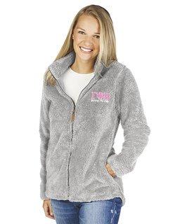 Gamma Phi Beta Newport Full Zip Fleece Jacket
