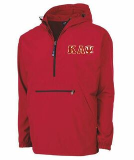 Kappa Alpha Psi Tackle Twill Lettered Pack N Go Pullover