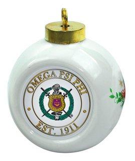 Omega Psi Phi Christmas Ornaments
