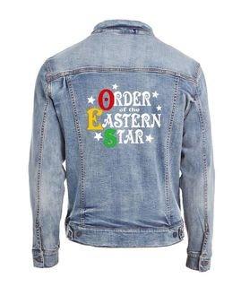 Order Of Eastern Star Star Struck Denim Jacket