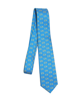 Sigma Chi Lettered Woven Necktie