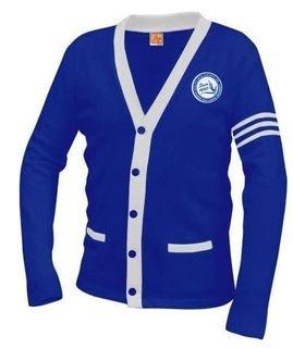 Zeta Phi Beta Varsity Cardigan Sweater