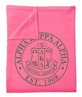 Alpha Kappa Alpha Sweatshirt Blankets