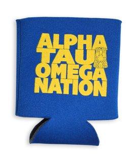 Alpha Tau Omega Nations Can Cooler