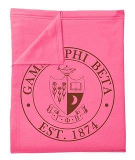 Gamma Phi Beta Sweatshirt Blankets