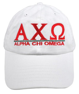 Alpha Chi Omega World Famous Line Hat