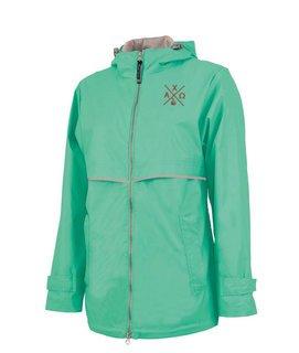 Alpha Chi Omega New Englander Rain Jacket