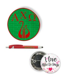 Alpha Chi Omega Sorority Pack $5.99
