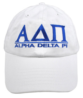 Alpha Delta Pi World Famous Line Hat
