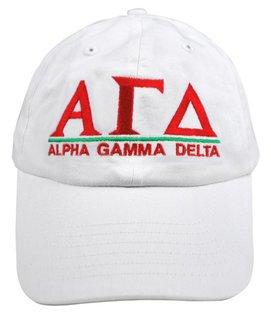 Alpha Gamma Delta World Famous Line Hat