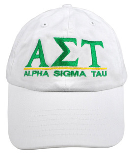 Alpha Sigma Tau World Famous Line Hat