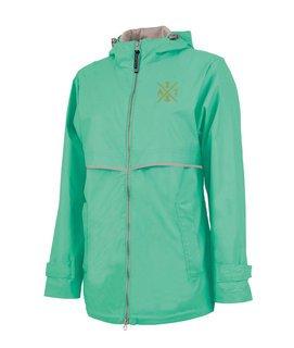 Alpha Sigma Tau New Englander Rain Jacket