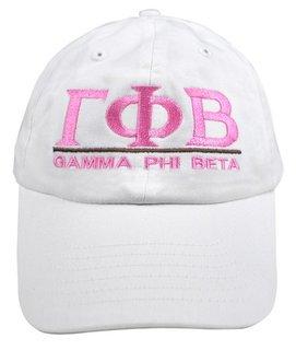 Gamma Phi Beta World Famous Line Hat