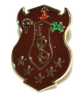 Iota Phi Theta 3D Color Shield Pins