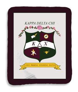 Kappa Delta Chi Sherpa Lap Blanket