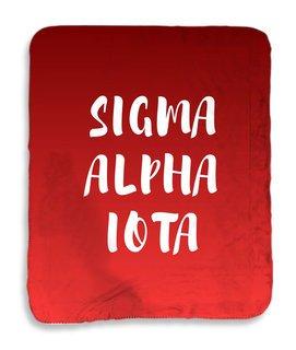 Sigma Alpha Iota Gradient Sherpa Lap Blanket