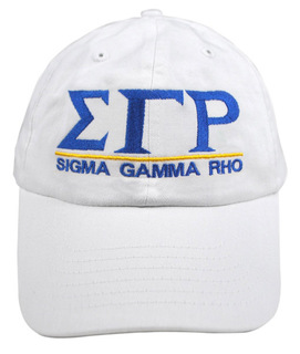 Sigma Gamma Rho World Famous Line Hat