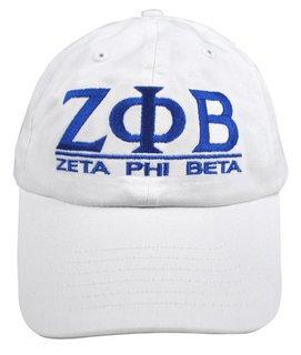 Zeta Phi Beta World Famous Line Hat