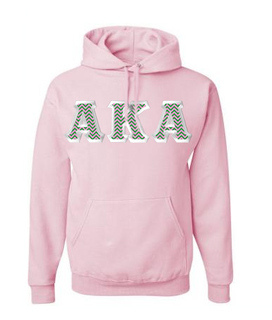 $39.99 AKA Custom Twill Hooded Sweatshirt - MADE FAST!