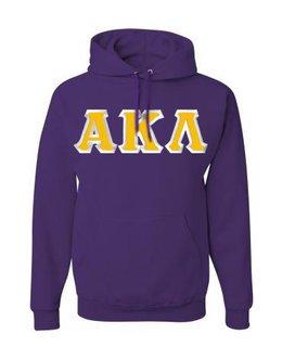Alpha Kappa Lambda Custom Twill Hooded Sweatshirt