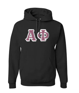 Fraternity & Sorority $40 Satin Stitch Hoodie