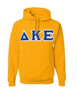 Delta Kappa Epsilon Custom Twill Hooded Sweatshirt