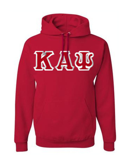 Kappa Alpha Psi Custom Twill Hooded Sweatshirt