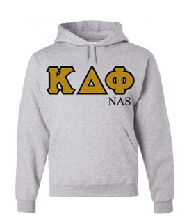 $39.99 Kappa Delta Phi Custom Twill Hooded Sweatshirt