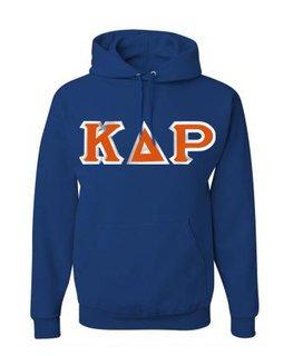 $30 Kappa Delta Rho Custom Twill Hooded Sweatshirt