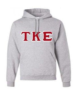 Tau Kappa Epsilon Custom Twill Hooded Sweatshirt