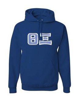 Theta Xi Custom Twill Hooded Sweatshirt