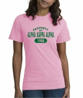 Alpha Kappa Alpha Property Of Est.