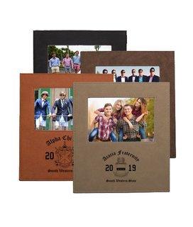 Fraternity Saddle Photo Frame
