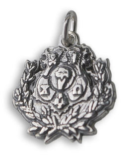 Sorority Mini Crest - Shield Charm