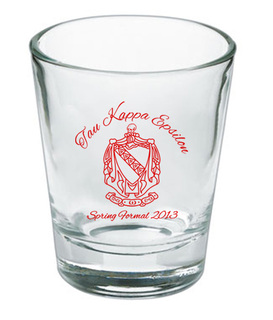 Custom Printed Short Glass Design #20