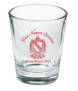 Custom Printed Short Glass Design #20