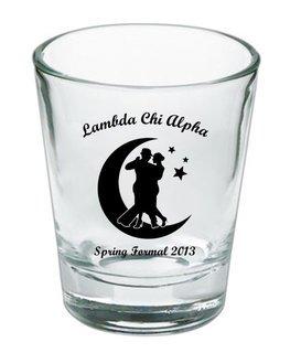 Custom Printed Short Glass Design #4
