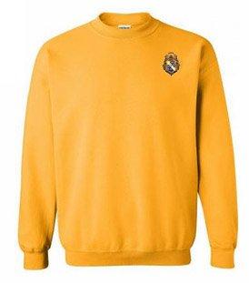 DISCOUNT-Alpha Phi Omega World Famous Crest - Shield Crewneck Sweatshirt