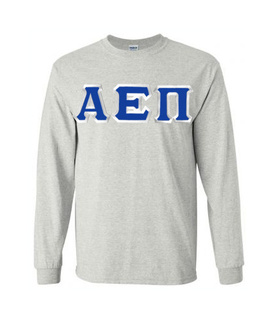 Alpha Epsilon Pi Custom Twill Long Sleeve T-Shirt