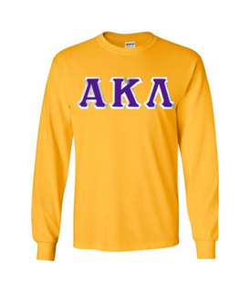 $19.99 Alpha Kappa Lambda Custom Twill Long Sleeve T-Shirt