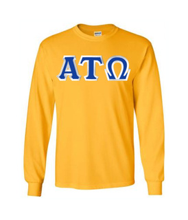 Alpha Tau Omega Custom Twill Long Sleeve T-Shirt
