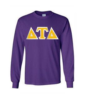 Delta Tau Delta Custom Twill Long Sleeve T-Shirt