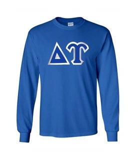 Delta Upsilon Custom Twill Long Sleeve T-Shirt
