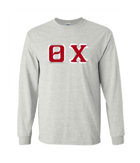 $19.99 Theta Chi Custom Twill Long Sleeve T-Shirt