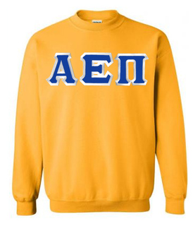 Alpha Epsilon Pi Custom Twill Crewneck Sweatshirt