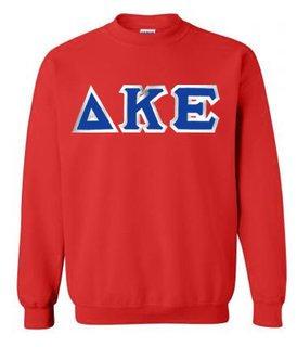 Delta Kappa Epsilon Custom Twill Crewneck Sweatshirt