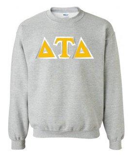 Delta Tau Delta Custom Twill Crewneck Sweatshirt