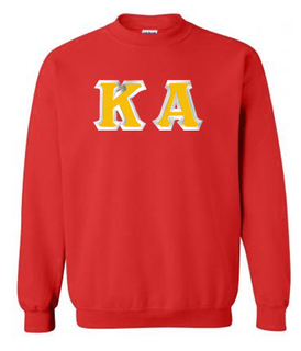 Kappa Alpha Custom Twill Crewneck Sweatshirt