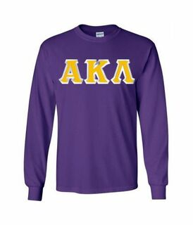 Alpha Kappa Lambda Lettered Long Sleeve Shirt