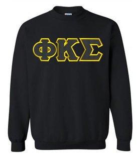 DISCOUNT Phi Kappa Sigma Lettered Crewneck